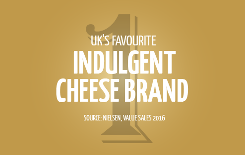 The UK's Favourite Indulgent Cheese Brand