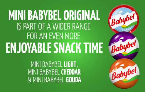 Mini Babybel Original Is Part Of A Wider Range For An Even More Enjoyable  Snack Time