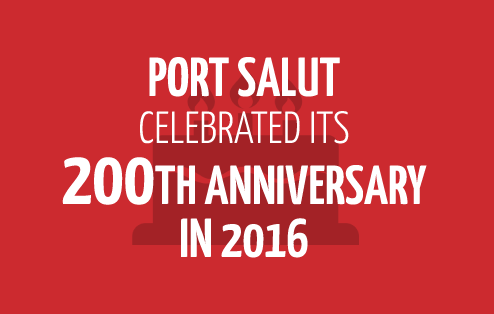 Port Salut celebrated its 200th anniversary in 2016