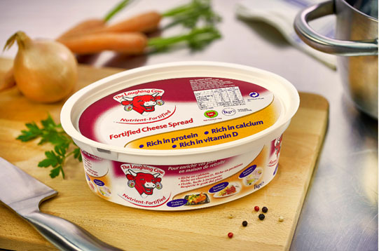 The Laughing Cow Nutrient Fortified