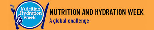 Nutrition and Hydration Week Banner